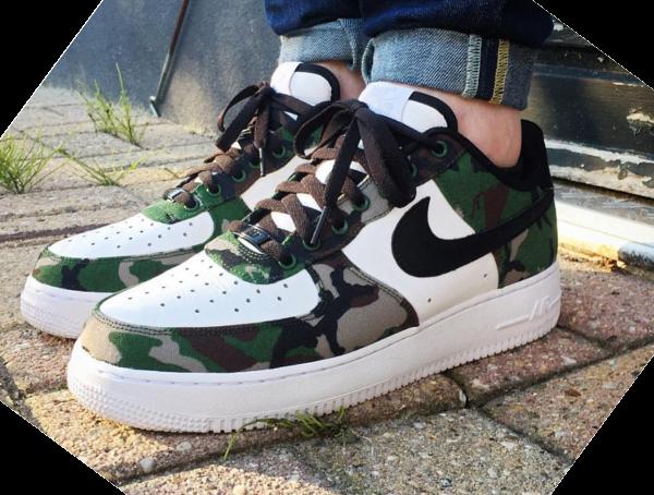 Nike Air Force 1 Low ID Woodland Camo (1)