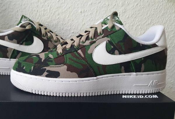 Nike Air Force 1 Low ID Woodland Camo (2)