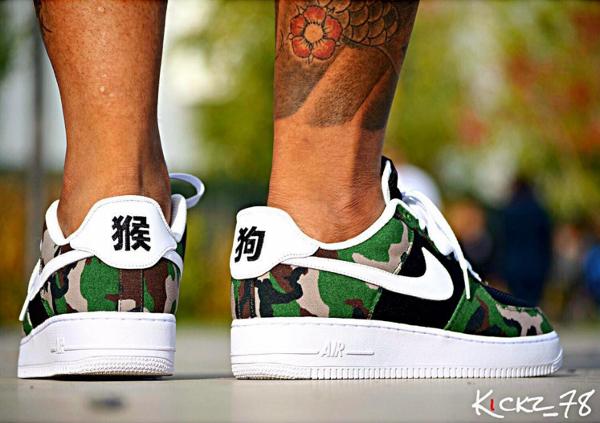 Nike Air Force 1 Low ID Woodland Camo (6)