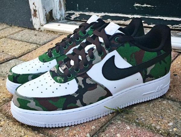 Nike Air Force 1 Low ID Woodland Camo