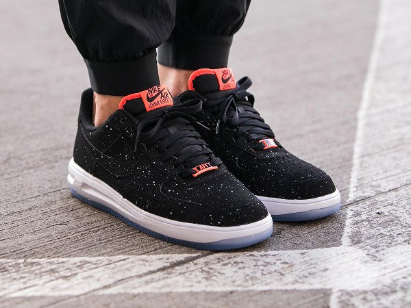 Nike Lunar Force 1 '14 Speckle Hot lava & Navy   Sneakers actus