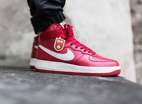 Nike Air Force 1 Nai Ke Gym Red (1)