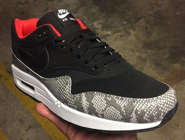 Nike Air Max 1 ID Premium Bred Snakeskin (1)