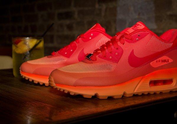 Nike Air Max 90 Hyperfuse Orange Chilling Red Atomic Orange (2)