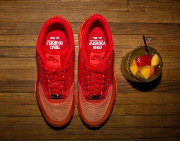 Nike Air Max 90 Hyperfuse Orange Chilling Red Atomic Orange (4)