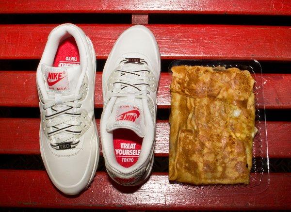 Nike Air Max 90 White Beige Chalk Velvet Brown (1)