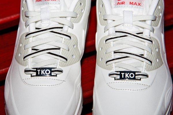 Nike Air Max 90 White Beige Chalk Velvet Brown (2)