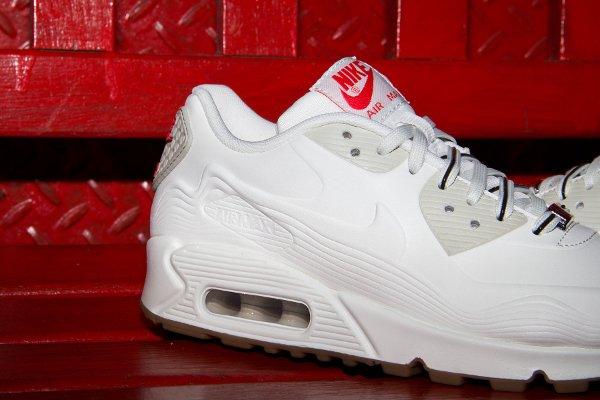 Nike Air Max 90 White Beige Chalk Velvet Brown (4)