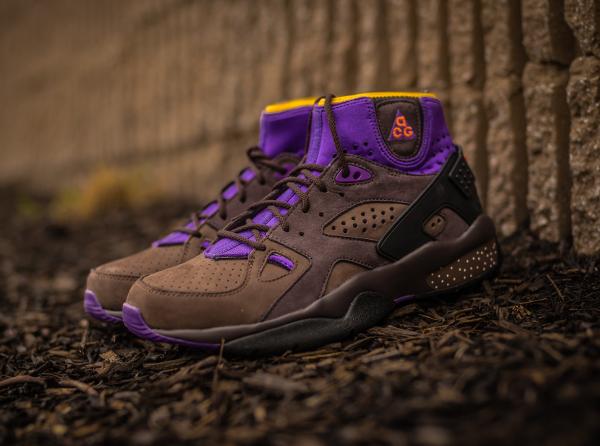 los angeles 0f877 c01e2 nike acg mowabb purple rain boots