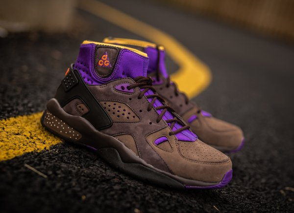 Nike Air Mowabb OG ACG Purple Orange Brown (2)