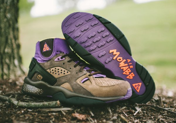 Nike Air Mowabb OG marron orange violet (0)