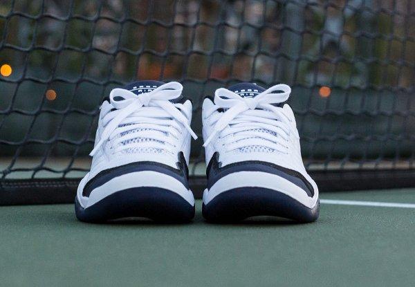 Nike Air Oscillate Quickstrike Blanc Bleu nuit (3)