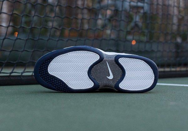 Nike Air Oscillate Quickstrike Blanc Bleu nuit (5)