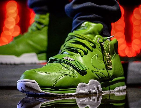 Nike Air Trainer 1 Fragment Wimbledon Chlorophyll - Grapeshirt (2)