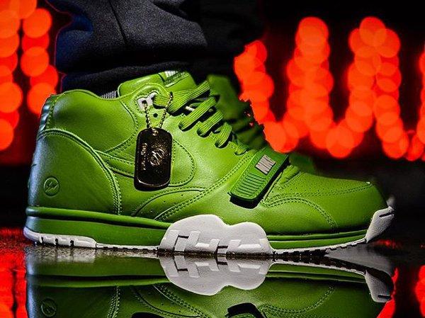 Nike Air Trainer 1 Fragment Wimbledon Chlorophyll - Grapeshirt