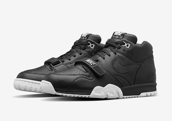 Nike Air Trainer 1 Mid x Fragment 'Black' (1)