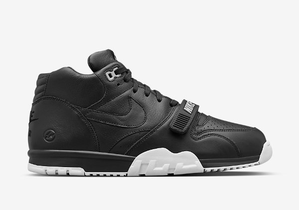 Nike Air Trainer 1 Mid x Fragment 'Black' (2)