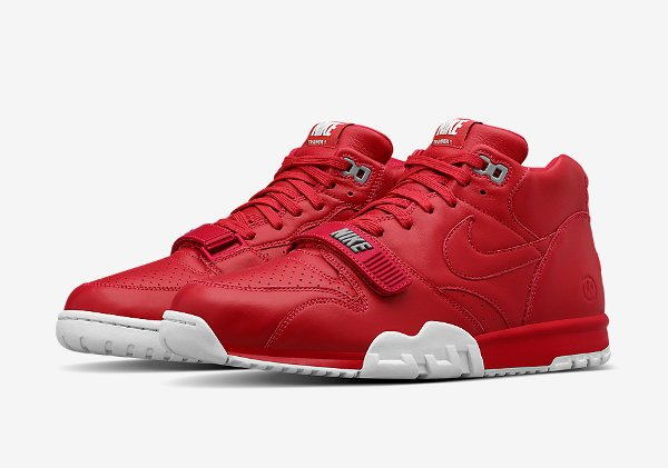 Nike Air Trainer 1 Mid x Fragment Red (1)