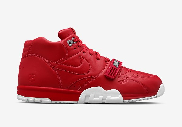 Nike Air Trainer 1 Mid x Fragment Red (2)