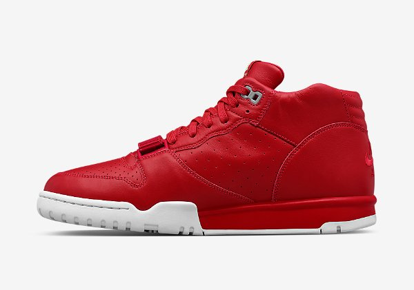 Nike Air Trainer 1 Mid x Fragment Red (3)