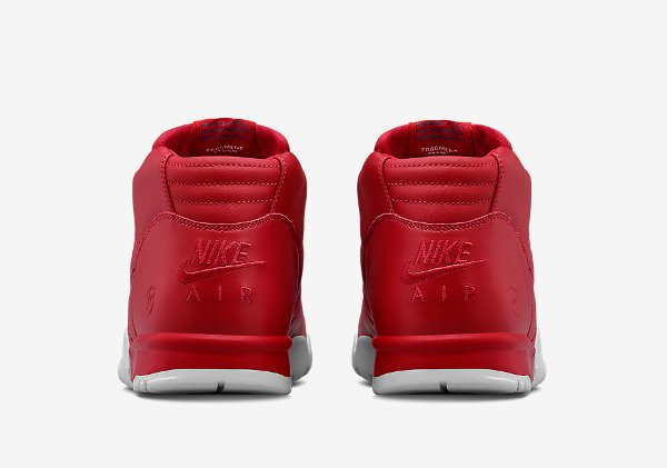 Nike Air Trainer 1 Mid x Fragment Red (4)
