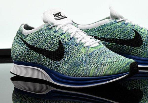 Nike Flyknit Racer Green Strike