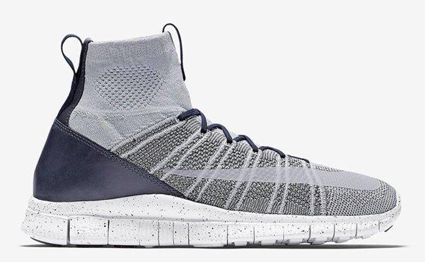 Nike Free Flyknit Mercurial Platinum Grey Obsidian (2)