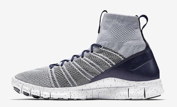 Nike Free Flyknit Mercurial Platinum Grey Obsidian (3)