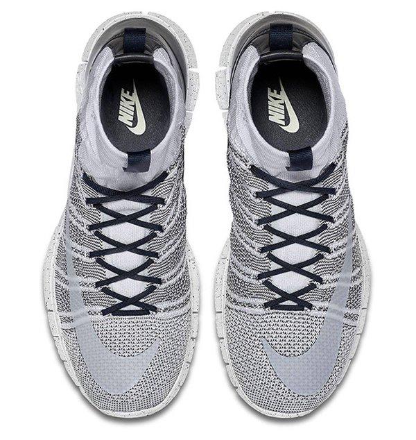 Nike Free Flyknit Mercurial Platinum Grey Obsidian (4)