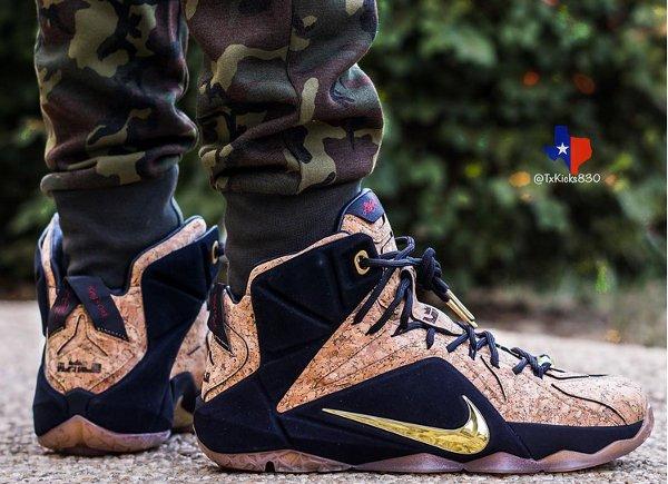 Nike Lebron 12 EXT King's Cork (1)