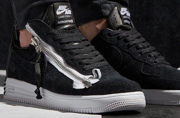Nike Lunar Air Force x Acronym noire (1)
