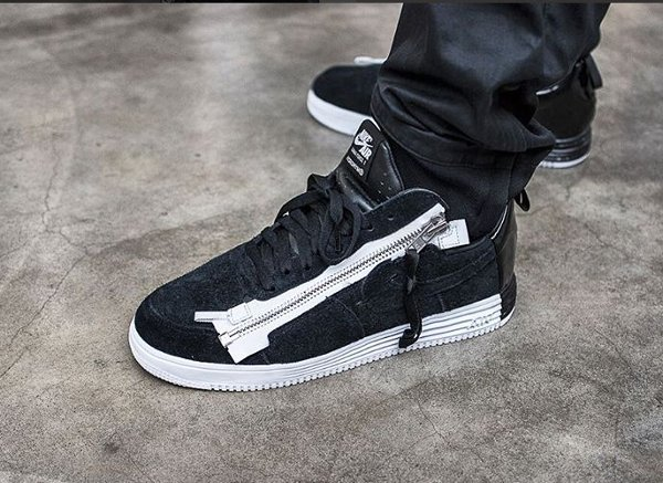 Nike Lunar Force 1 SP x Acronym 'Zip' Black (1)