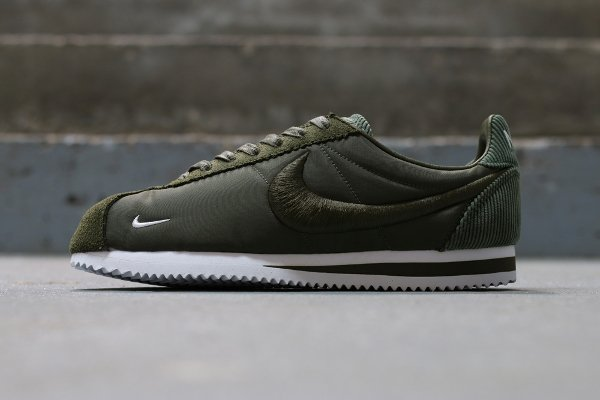 NikeLab Cortez SP 'Textile' Medium Olive