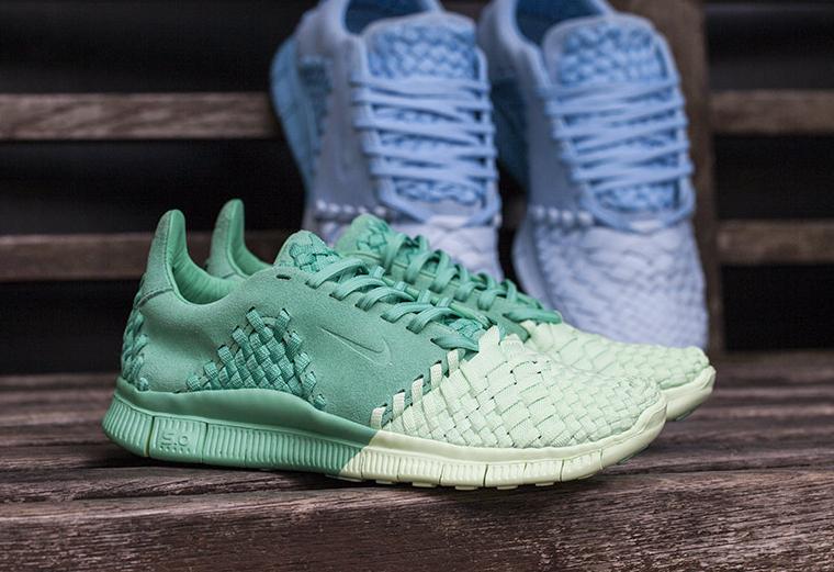 Nike Free Inneva Woven II Lakeside   Green   où les acheter   d603aad3803d