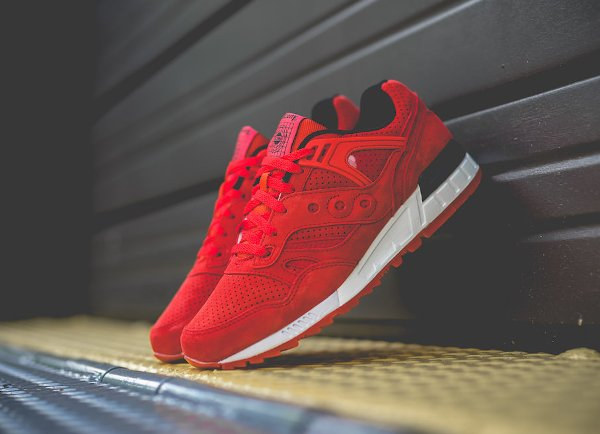 Saucony Grid SD 'No Chill' Red