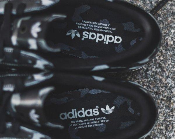 Adidas Consortium Superstar 80V Camo x Undefeated x Bape Black Cinder Gold (2)
