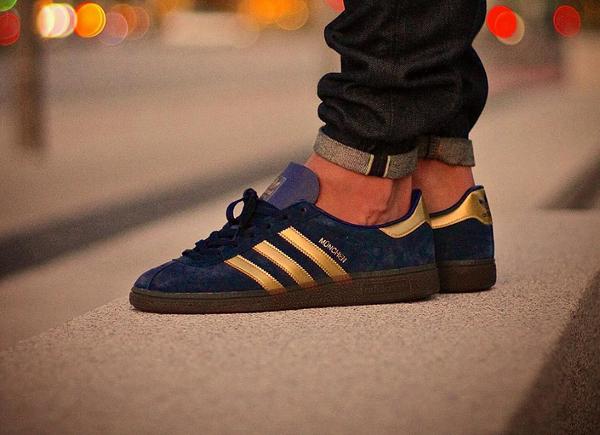Adidas München SPZL OG Navy Gold (1)