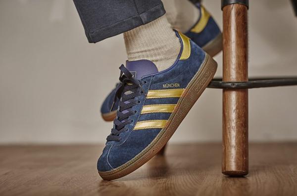 Adidas München SPZL OG Navy Gold