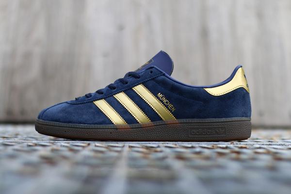 Adidas Spezial München 1982 bleue dorée (1)