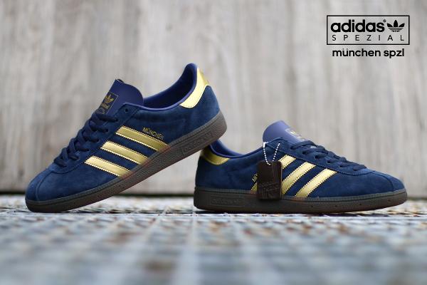 Adidas Spezial München 1982 bleue dorée (3)