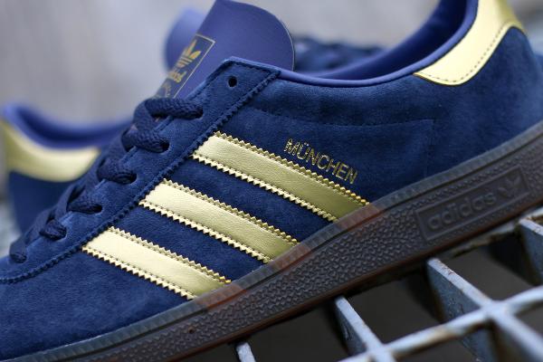 Adidas Spezial München 1982 bleue dorée (5)