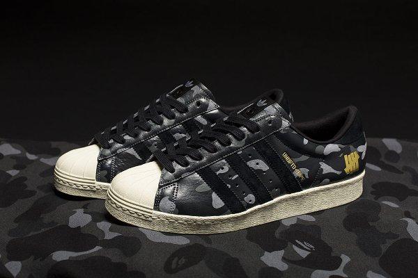 Adidas Superstar 80V Camo x UNDFTD x Bape : où les acheter ?