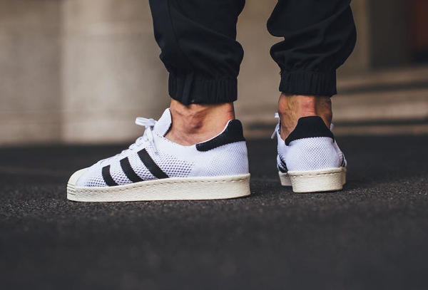 Adidas Superstar 80's Primeknit White (2)