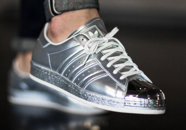 Adidas Superstar 80's Silver Metallic