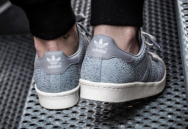 Adidas Superstar 80's W Clear Grey Light Onix (1)