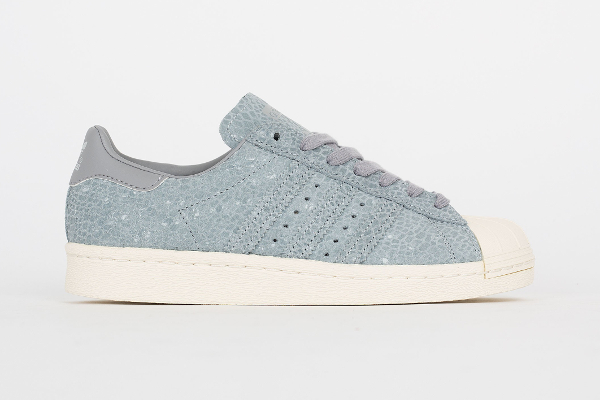 Adidas Superstar 80's W Clear Grey Light Onix (2)