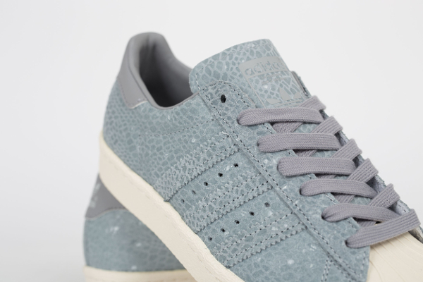 Adidas Superstar 80's W Clear Grey Light Onix (3)