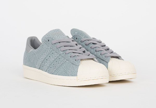 Adidas Superstar 80's W Clear Grey Light Onix (5)