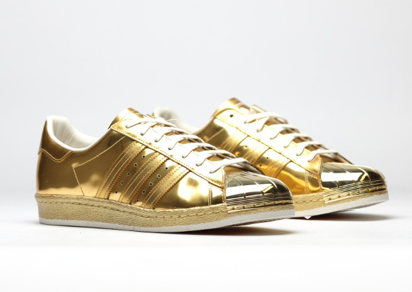 superstar gold métallique