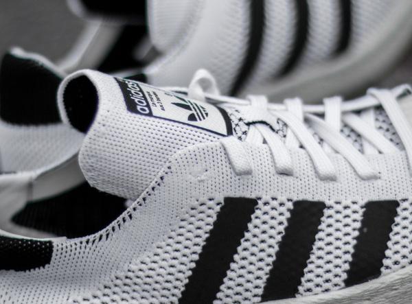 Adidas Superstar 80's tissée blanche (5)